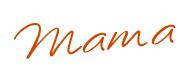 Mama signature orange JPG